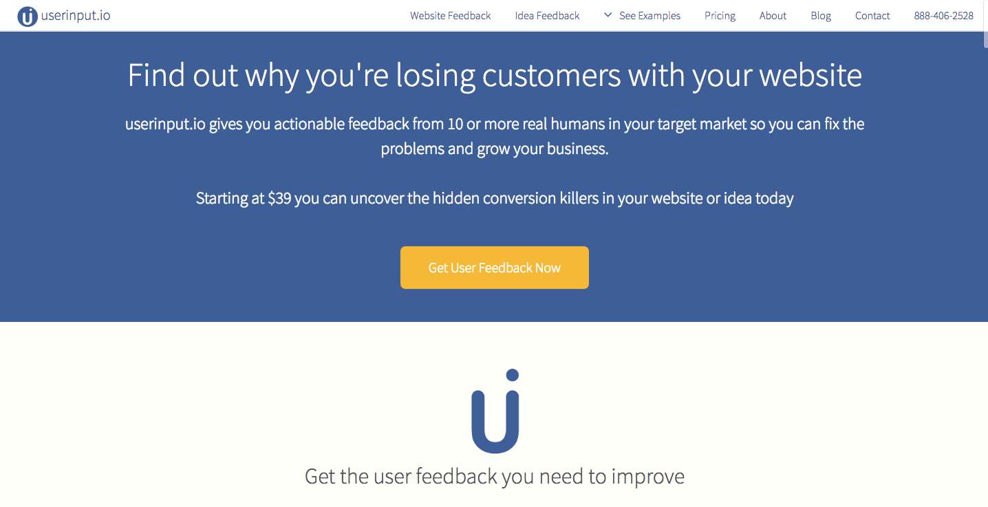 userinput