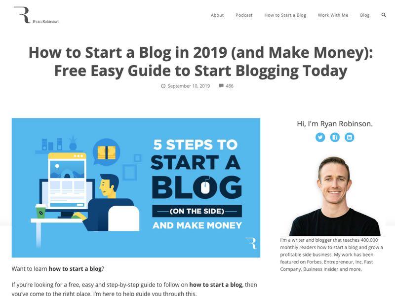 how to blog screenshot 092019