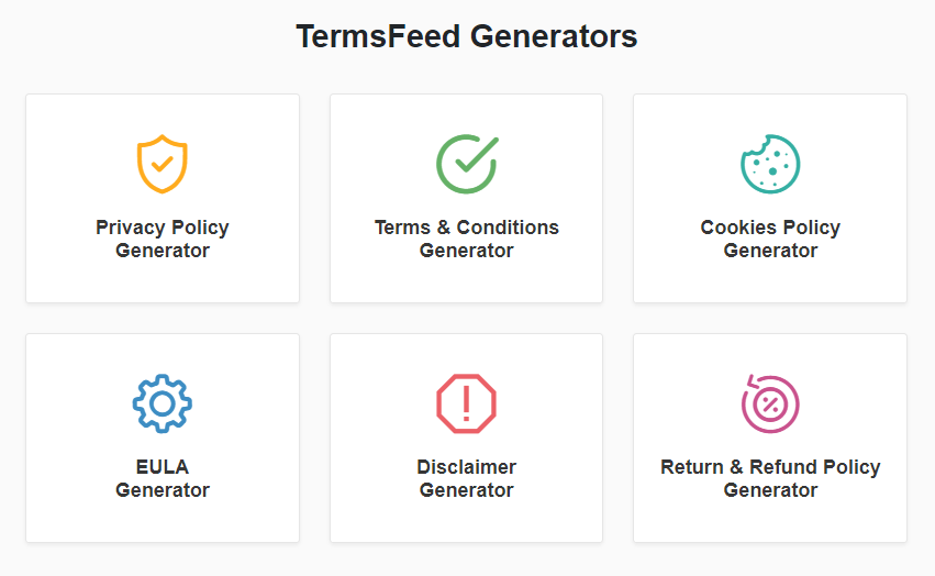 Termsfeed Review Services