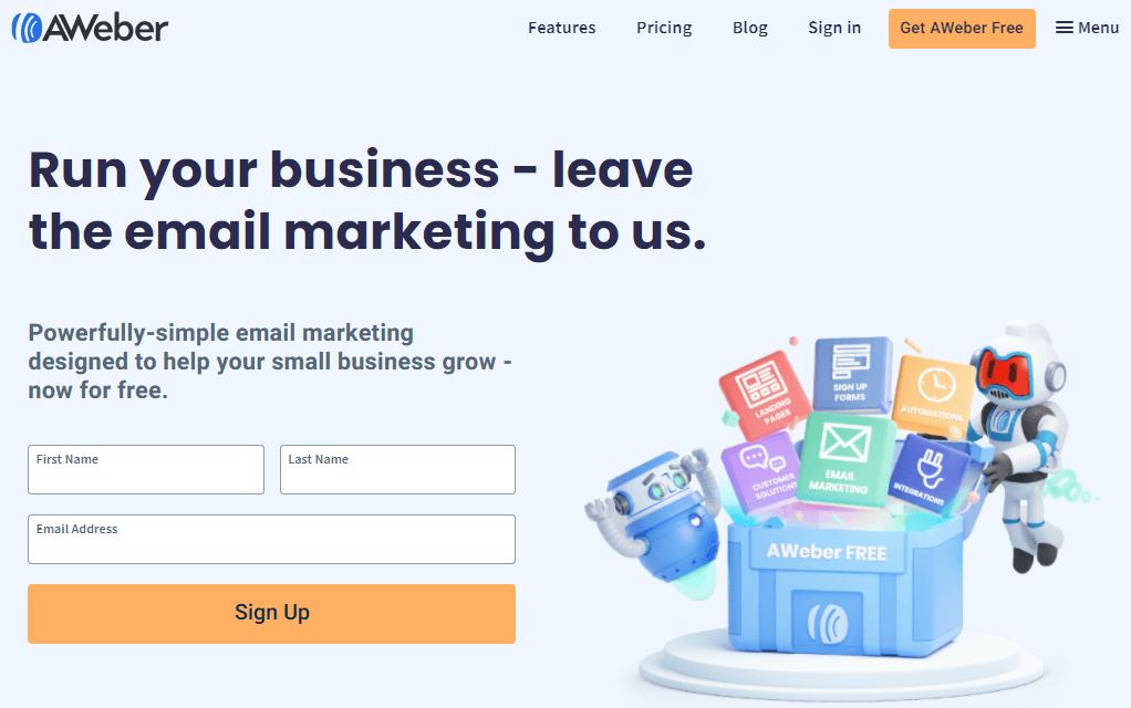 Aweber Startup Tool