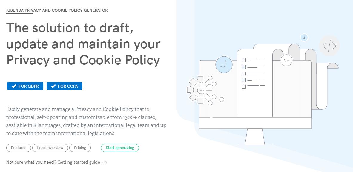 Iubenda Privacy Policy