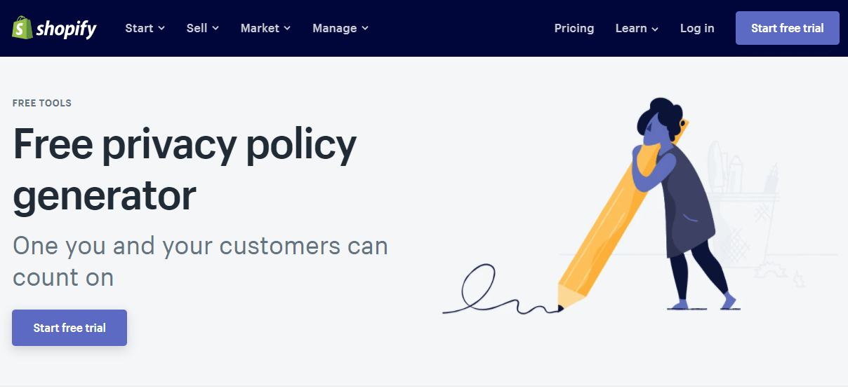 Shopify Privacy Policy
