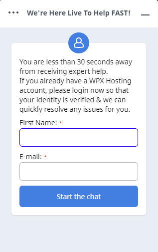 WPX Review Customer Support