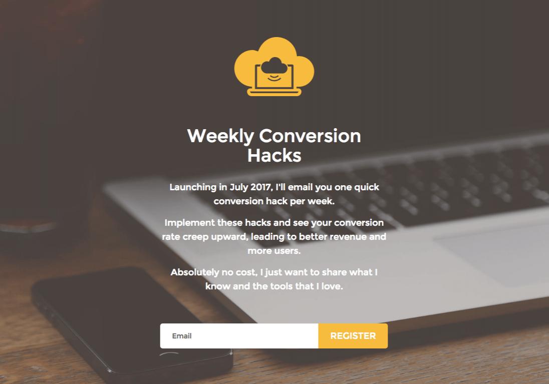 weeklyconversionhacks